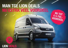 MAN TGE Lion Deals, tot € 5.750,- korting!